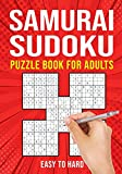 Samurai Sudoku Puzzle Books for Adults: Japanese Math Puzzle Logic Book | Easy to Hard | 90 Puzzles
