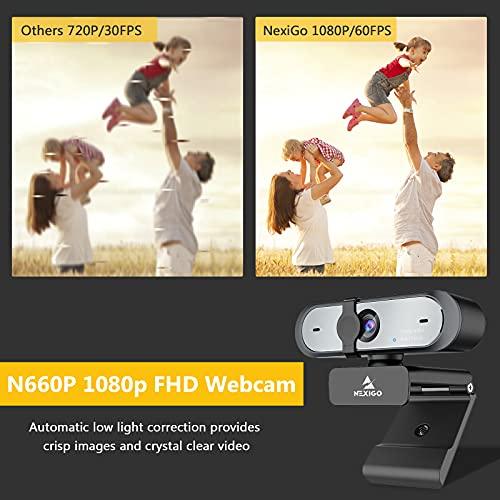 Nexigo N660p 1080p Full-HD Webcam