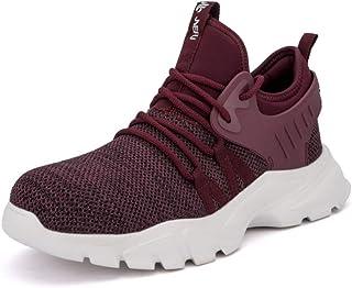 Scarpe Antinfortunistiche Uomo Scarpe da Lavoro Leggere Donna Puntale Acciaio Sneakers Traspiranti Mesh Sneakers Sportive ...