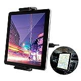 EEEKit Supporto per Tablet per Auto con Slot per CD, Supporto per Telefono Universale per Tablet Supporto per Supporto per Slot per CD di Rotazione a 360 ° per Tablet o Tablet da 8-10 Pollici