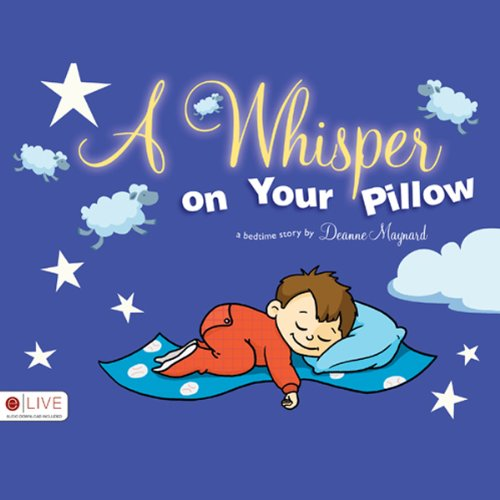 A Whisper on Your Pillow audiobook cover art