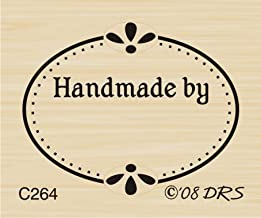oval rubber stamp