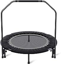 """Trampolines 40"""" Trampoline Rebounder, Opvouwbaar Exercise Trampoline Met Leuning For Volwassenen Kinderen Body Fitness Wor..."""