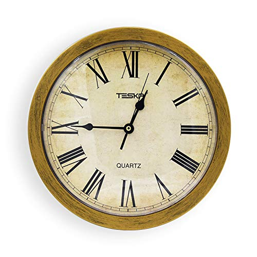 Fltaheroo Reloj De Pared De Almacenamiento Uso En Interiores como Compartimiento Secreto Oculto con Envase Oculto Caja Apra Dinero Y Almacenamiento De Joyas