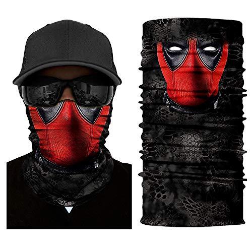 IGNB Neck Gaiter Headwear, Seamless Bandana Tube Sun Face Mask,UV Versatile Sport Headband Bandana for Men Women Dust Outdoor Climbing Camping Hiking Fishing Running (11)