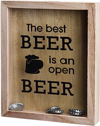 Trendkontor Flaschenverschluß Sammelkasten für Wein oder Bier (Bier)