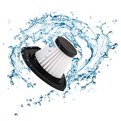 URAQT HEPA-Filter für kabelloser Staubsauger Trocken-Saugen & Nass-Saugen