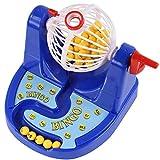 royalr Lotería Mini Bingo Jaula Tabla Juego de Pelota de la Familia de Escritorio niños de la máquina de Juego Educativo Regalo de cumpleaños del Juguete