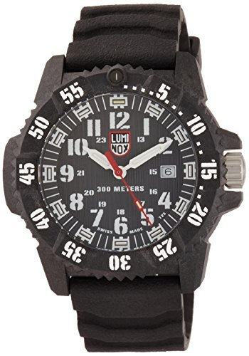 [Luminox] Luminox Reloj seaseries Luminox carbono sello 3800series 3801hombre [Regular importados]