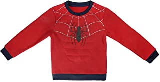 Spiderman S0712717 Sweater, Rojo, 5 a os Unisex-Child