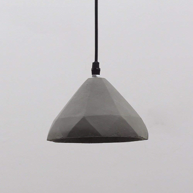 EI éclairage de ménage créatif Chambre Salon Personnalité Lampes et lustres Minimaliste Sépia Industriel Style Américain Frigobar CiHommest 160  110Mm