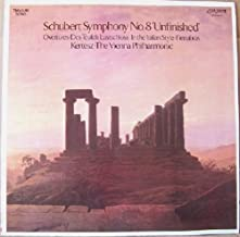 Schubert: Symphony No. 8- Unfinished / Overtures: Des Teufels Lustschloss, In the Italian Style, Fierrabras
