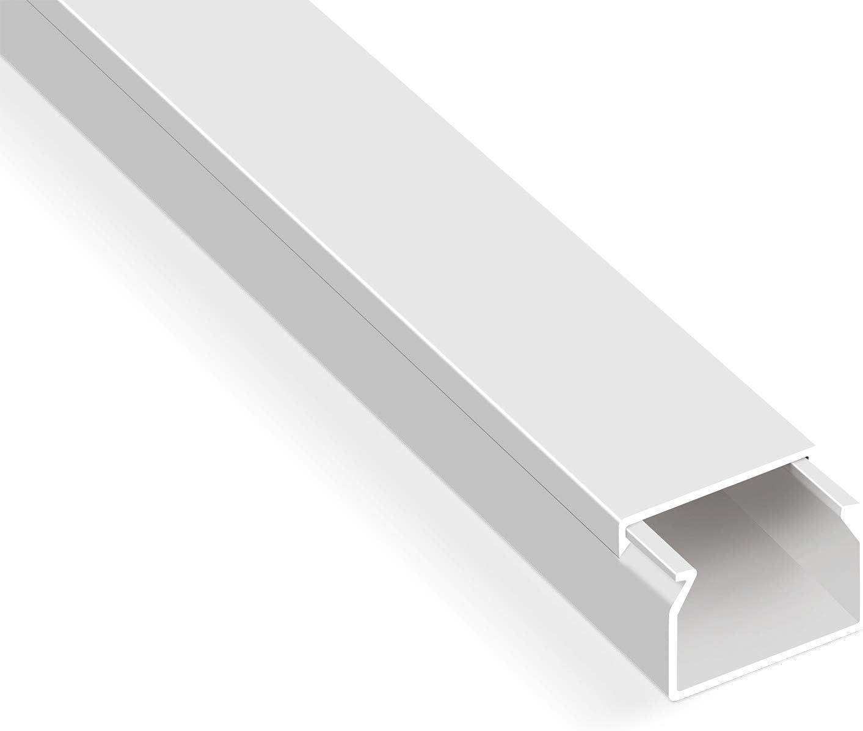 20m Kabelkanäle Selbstklebend Weiß 40x16 Mm 20x 1m Kabelkanal Mit Schaumklebeband Fertig Für Die Montage Baumarkt