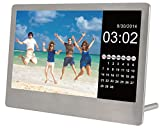 Sylvania SDPF7977 7-Inch Stainless Steel Digital Photo Frame (Stainless Steel)