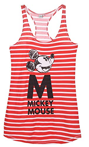 Minnie Mouse Damen Nachthemd, Rot, L