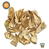 White Cow Ears for Dogs 200 Ct | 100% Natural Bulk Dog Treats