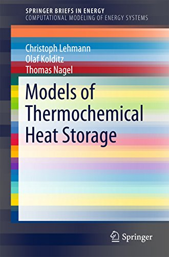 Models of Thermochemical Heat Storage (SpringerBriefs in Energy) (English Edition)