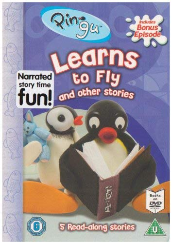 Pingu - Pingu Learns To Fly [Interactive DVD]
