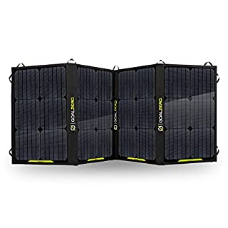 Goal Zero Nomad 100 Portable Solar Panel Black Powerful 100 W Max Output Largest Goal Zero Foldable Panel Chainable Monocrystalline Cell Harness the Sun to Power Your Phone Laptop Powerpack (B016UQNGFS) | Amazon price tracker / tracking, Amazon price history charts, Amazon price watches, Amazon price drop alerts