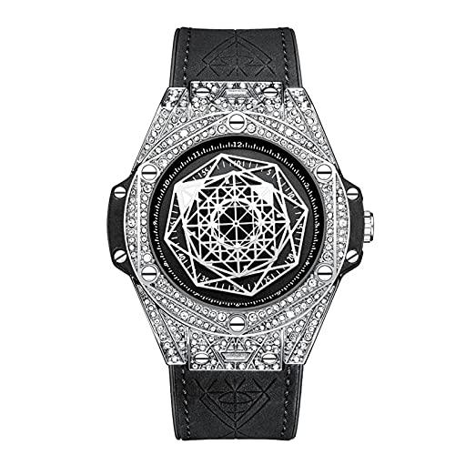 N\C Reloj impermeable del cuarzo del cuarzo del reloj de las señoras con la correa del acero inoxidable, conveniente para el desgaste de la