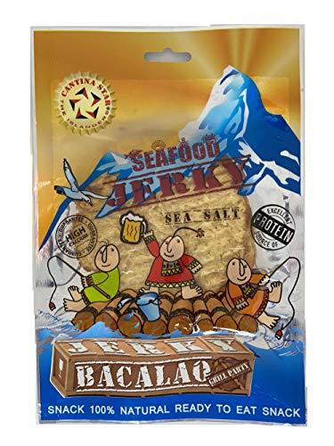 CANTINA STAR | Fish Jerky (Dried Fish) | Bacalao | 2.8 oz - All Natural & Wild Caught