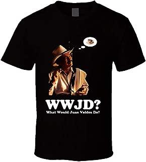 YuanKe Zhang Juan Valdez Coffee Funny Joke Commercial Retro T Shirt