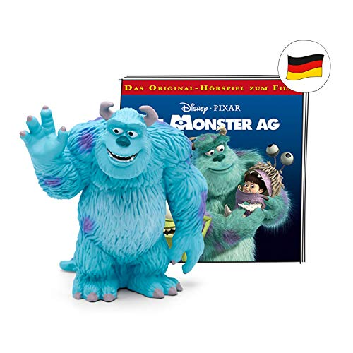tonies Hörfigur für Toniebox, Disney – Die Monster AG Original-Hörspiel zum Film, Hörspiel für Kinder ab 4 Jahren, Spielzeit ca. 59 Minuten