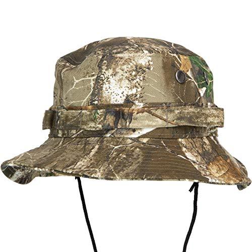 New Era Real Tree Camo Adventure - Sombrero de pescador multicolor S