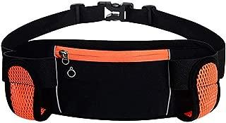 Women's Lightweight Leisure Waist Pack, Outdoor Fashion Multifunction Waist Bag with Headphone Jack Can Place A Kettle Adjustable Belt Comfort Durable Daily Travel Zip Waist Pack (Size:32 * 12CM)