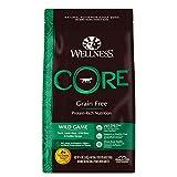 Wellness CORE Natural Grain Free Dry Dog Food, Wild...