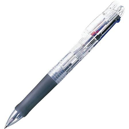 ゼブラ 3色油性ボールペン クリップオンG 3C P-B3A3-C 透明