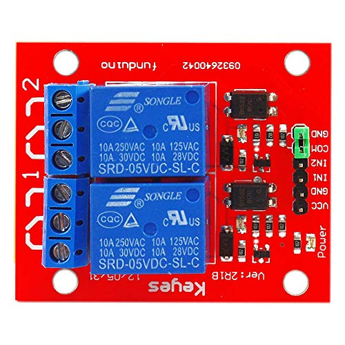 Un known For Arduinos 2 Channel 5V Relay Shield Module ARM PIC AVR DSP Accessory Replacement of Accessories