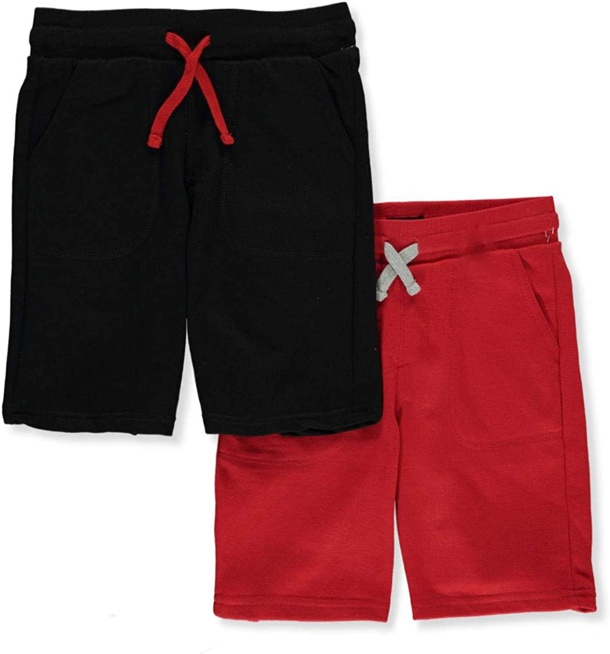 Cookie's Boys' 2-Pack Pull-On Terry Shorts