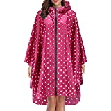 DeaAmyGline Regenjacke Damen Herren Regenponcho Regenmantel Wasserdicht Leichte Regenbekleidung mit Kapuze Regencape Jacke Regen Poncho Cape für Outdoor Fahrrad Motorrad Camping Wandern