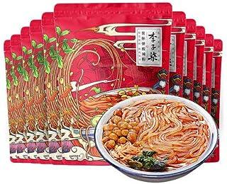 Likosaur deads, Potato (10 Piece Set) 8.9 oz (252 g) x 10 Bags, Spicy and Sour Noodles, Authentic Snacks of Chongchin, Ins...