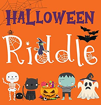 Halloween Riddle Book: for Kids   A Fun A-Z Riddle Activity Book for Children, Boys & Girls   Guess The Items While Learning the ABC   Halloween Gifts for Preschoolers
