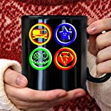 Mcr danger days killjoys symbols Mug 11oz Black Ceramic Coffee Mug