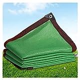 AWSAD Anti-UV HDPE Verde Marquesinas para Terrazas Tela de Toldo Red de Sombrilla Toldo de Refugio de Jardín Planta Suculenta Kiosko Balcón Marquesinas Exterior (Color : Green, Size : 2x2m)