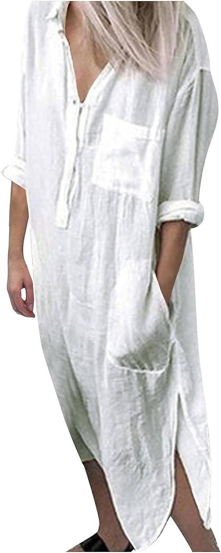 Vintage Dresses for Women Bohemian Sleeveless O-Neck Print Retro Dress Ladies Fashion Loose Long Summer Dresses