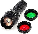 ULTRAFIRE Linterna LED Linterna Táctica A100,...