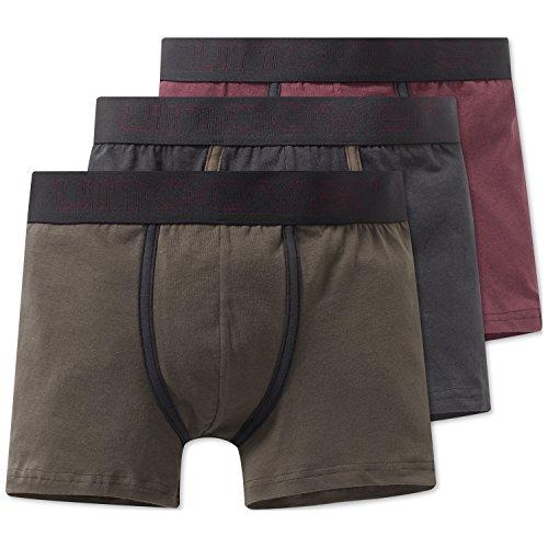 Schiesser Jungen Multipack 3Pack Shorts_163241 Boxershorts, Mehrfarbig (Sortiert 1901), 164 (Herstellergröße: M) (3er Pack)