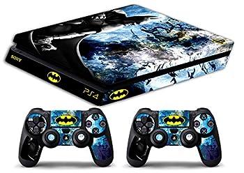 Skin Ps4 SLIM - BATMAN - limited edition DECAL COVER ADESIVA Playstation 4 Slim SONY BUNDLE