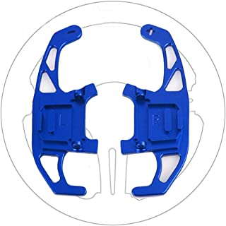 Great-luck Aluminum Steering Wheel Paddle Shifter Extensions Covers,Shifters Replacement Kit 2 pieces(blue) for VW Volkswagen Golf MK7 GTI R R-line Scirocco 2014-2019