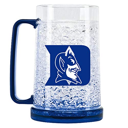 NCAA Duke Blue Devils 16oz Crystal Freezer Mug