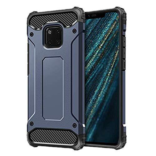 Cozy Hut Huawei Mate 20 Lite Hülle, Blau Silikon Schutzhülle für Huawei Mate 20 Lite Case TPU Bumper Huawei Mate 20 Lite Handyhülle - Blau