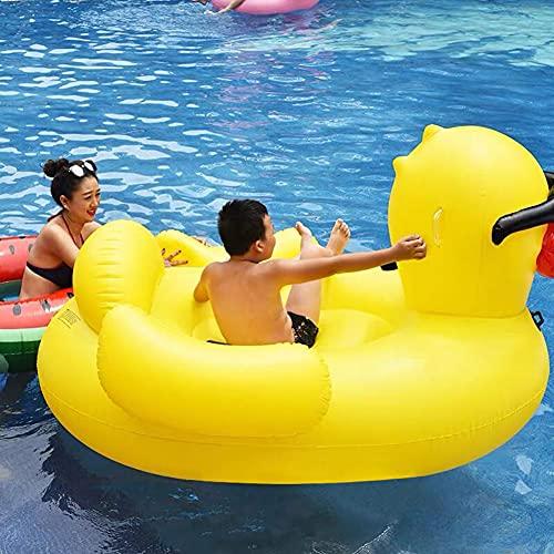 KJGLXD Inflatable Rhubarb Duck Floating Bed Sunglasses, Duck Mount, Floating Row, Swimming Pool