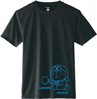 DONIC(ドニック) 卓球 ドラえもん コラボ Tシャツ DONIC I'm DORAEMON Aタイプ YL110