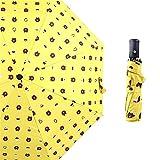 LYJZH Regenschirm Taschenschirm, kompakter tragbarer,geeignet für Männer und Frauen Vinyl Bär Sonnenschirm Taschenschirm colour17 99cm