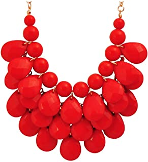 Best red bauble necklace Reviews