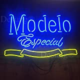 Desung 17'x13' Modelo Especial 1925 Neon Sign (MultipleSizes) Man Cave Sports Bar Pub Beer Lamp Glass Light CX20